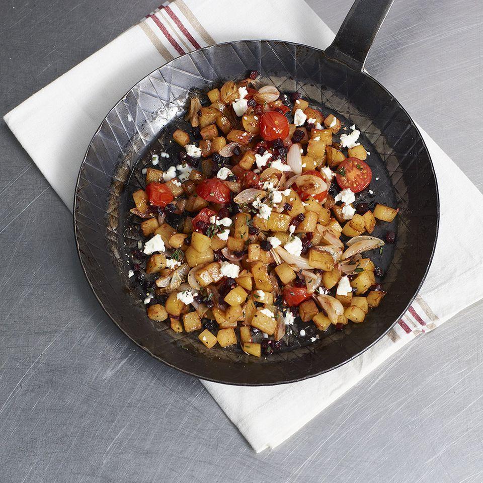 Mediterrane Kartoffelwürfel