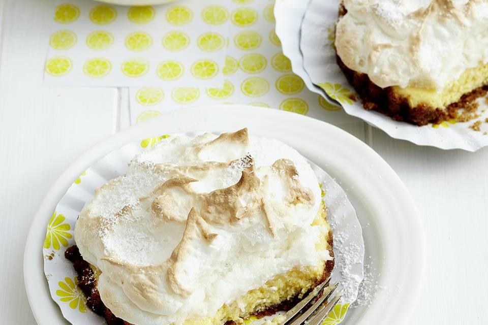 Zitronen-Baiser-Pies Rezept