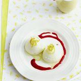 Zitronen-Sauerrahm-Mousse