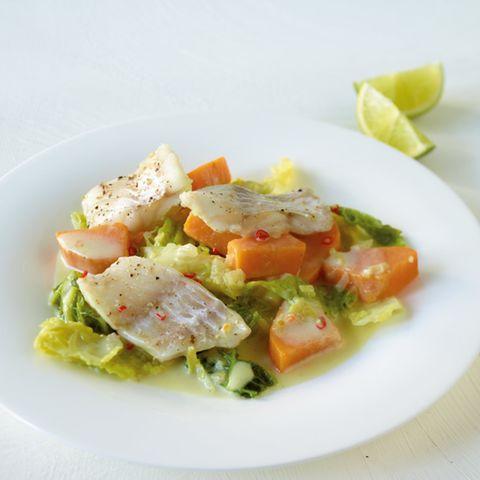 Süßkartoffel-Wirsing-Curry