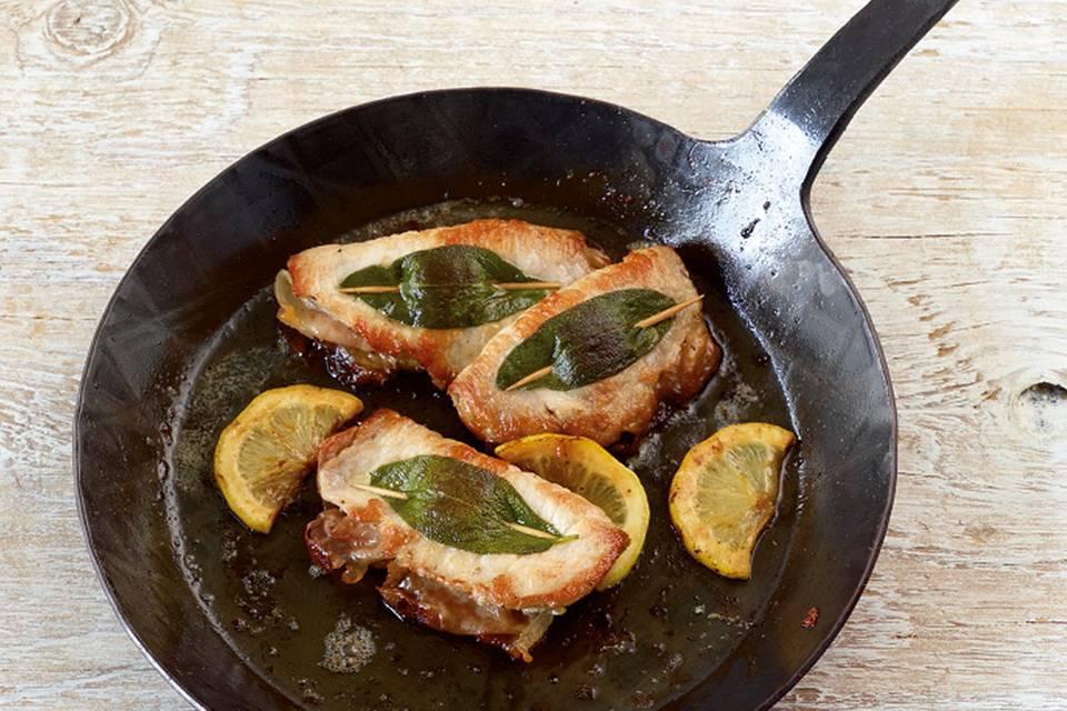 Saltimbocca vom Schwein Rezept