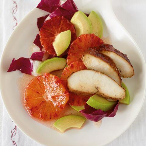 Avocado-Blutorangen-Salat