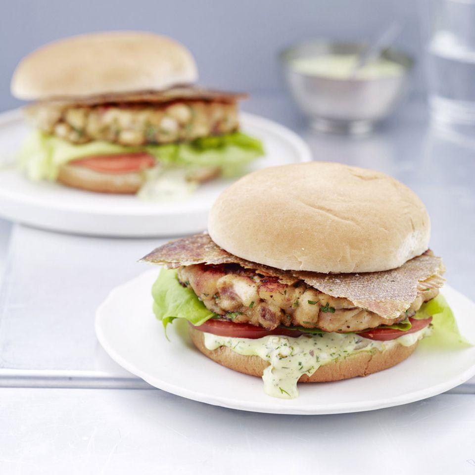 Forellen-Burger