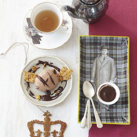 Tee-Schokoladen-Mousse