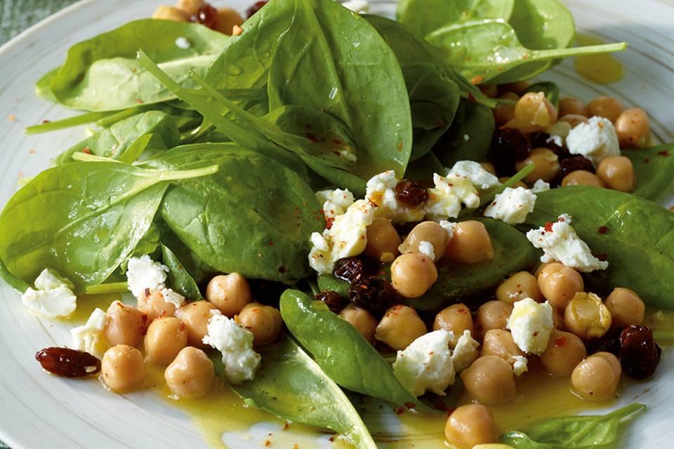 Arabischer Spinatsalat Rezept