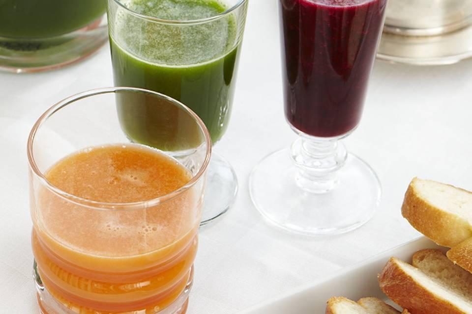 Möhren-Apfel-Saft Rezept