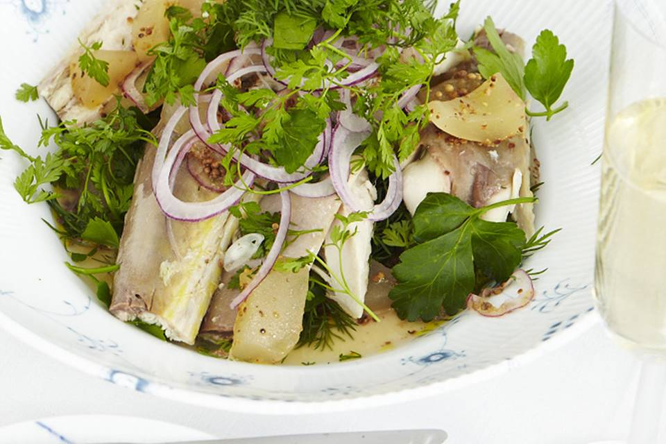 Räuchermakrelen-Salat Rezept