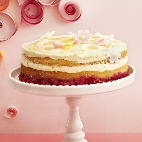 Rhabarber-Eierlikör-Torte