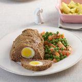 Erbsen-Möhren-Gemüse mit Kerbel