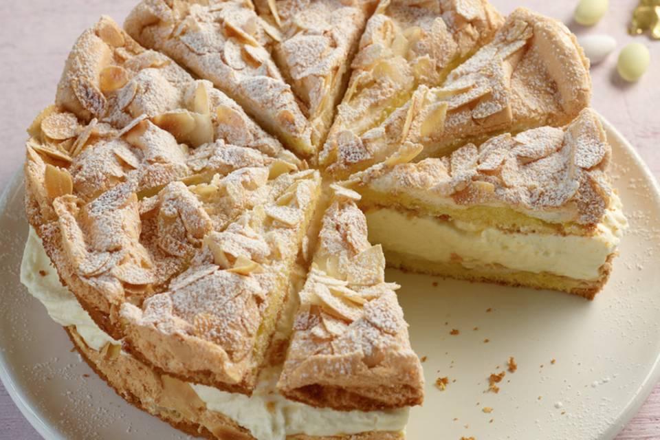 Zitronen-Sahne-Torte Rezept