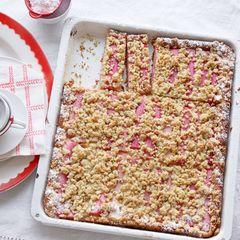 Rhabarber-Crumble-Kuchen