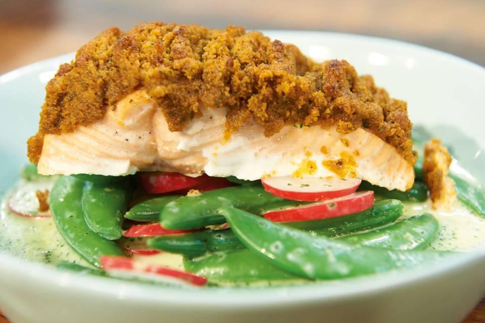 Knackerbsen-Radieschen-Salat Rezept
