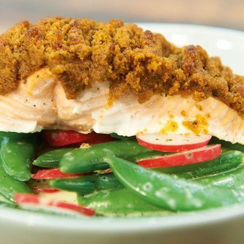 Knackerbsen-Radieschen-Salat