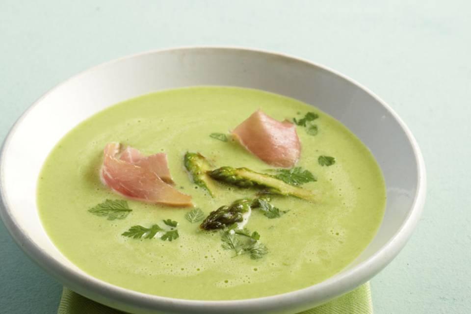 Grüne Spargelsuppe Rezept