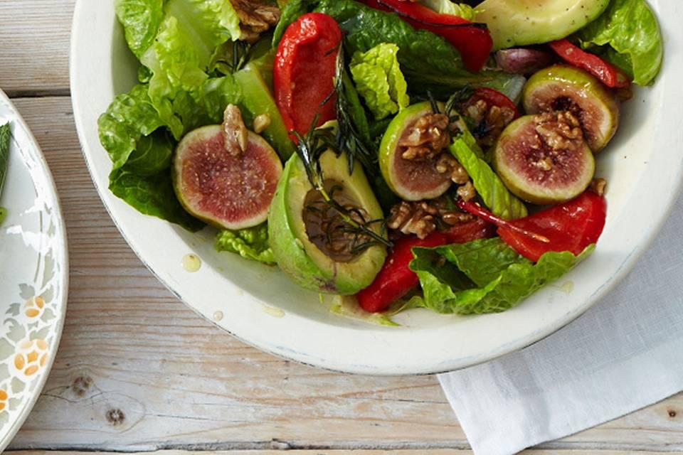 Avocado-Salat mit Feigen Rezept