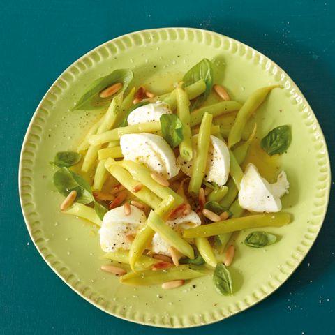 Bohnensalat mit Mozzarella