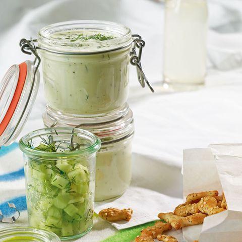 Gurken-Buttermilch-Suppe