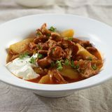 Kartoffel-Pfifferlings-Ragout
