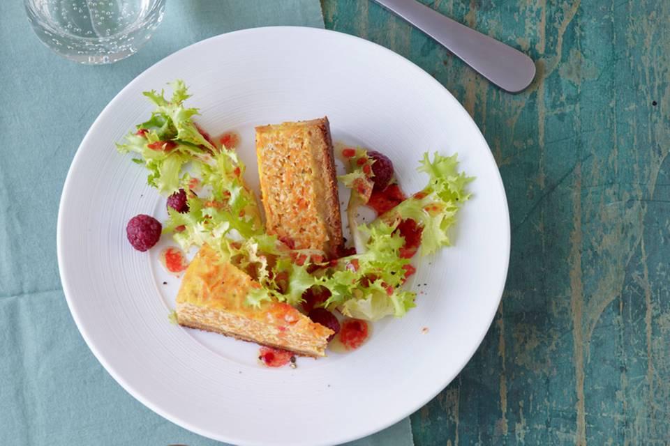 Möhren-Ziegenkäse-Kuchen Rezept