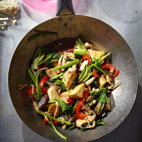 Pilz-Gemüse-Pfanne