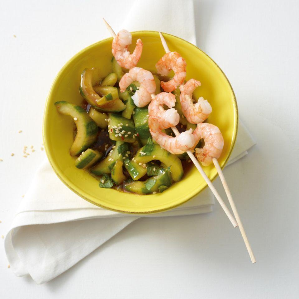 Asia-Gurkensalat