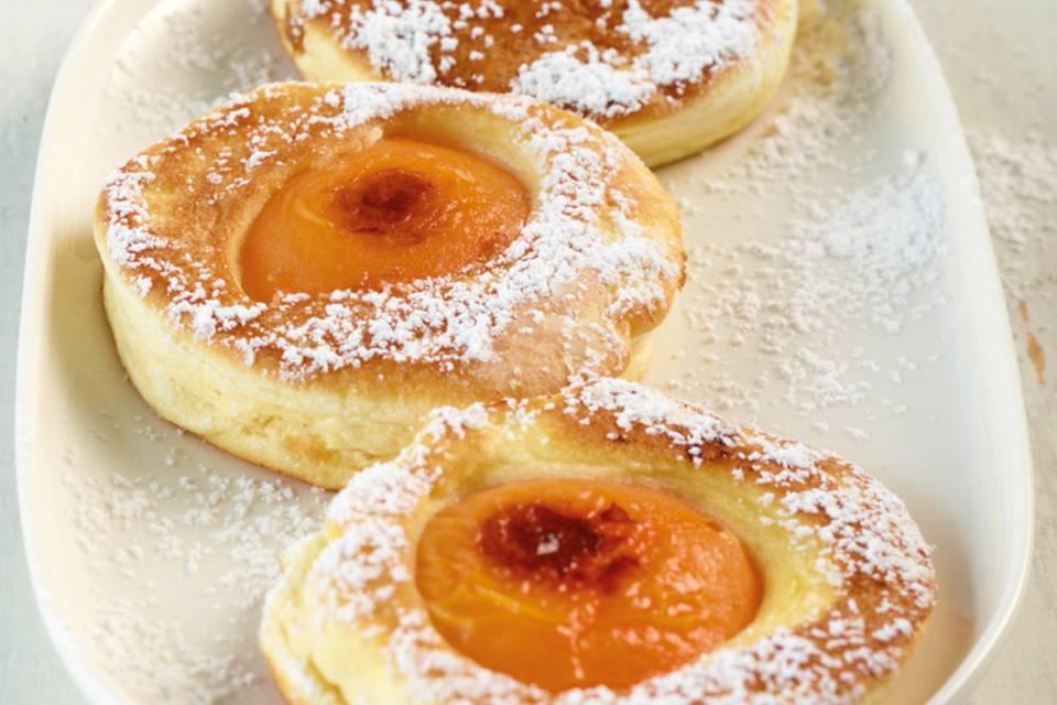 Aprikosen-Pancakes Rezept
