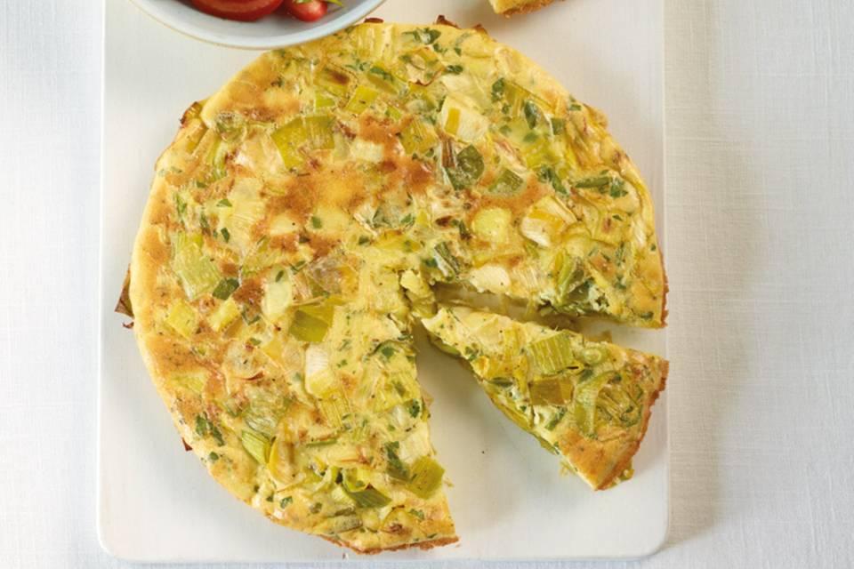 Lauch-Tortilla Rezept