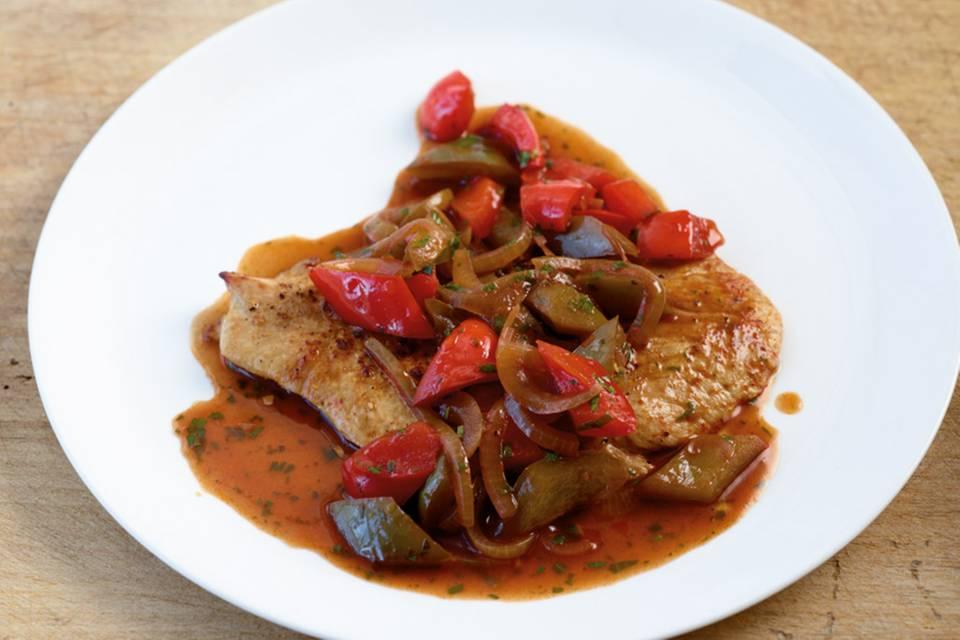 Paprika-Schnitzel Rezept