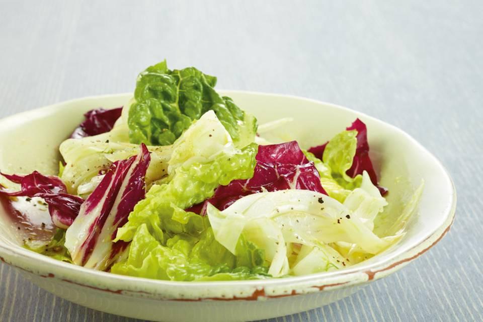 Bunter Radicchio-Salat Rezept