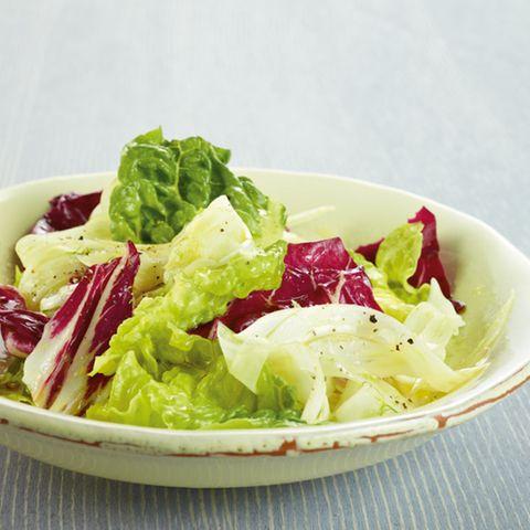 Bunter Radicchio-Salat