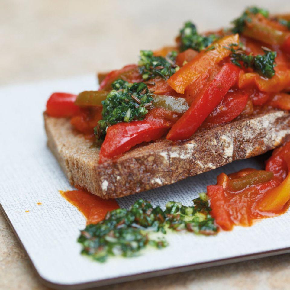 """Scharfes Paprika-Gemüse """"Juliska"""""""