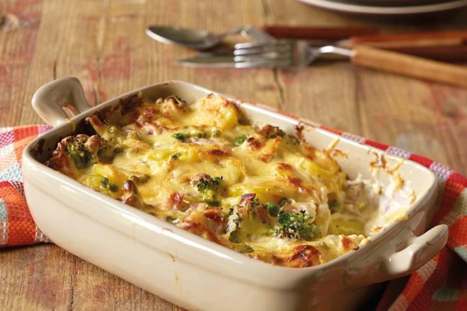 Broccoli-Kartoffel-Käse-Auflauf Rezept