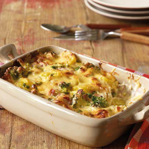 Broccoli-Kartoffel-Käse-Auflauf