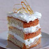 Nuss-Birnen-Torte mit Vanillecreme