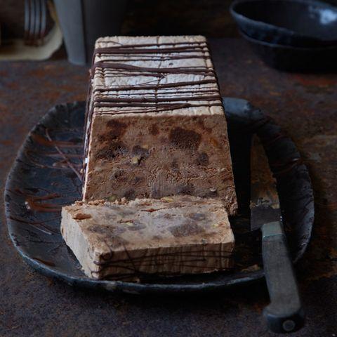 Brownie-Schokoladen-Parfait