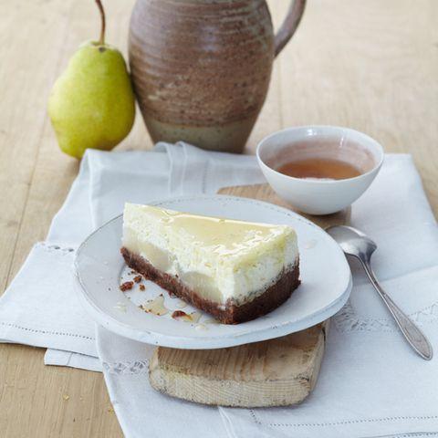 Birnen-Cheesecake