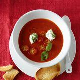 Tomatensuppe mit Ricotta