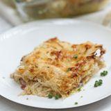 Sauerkraut-Lasagne