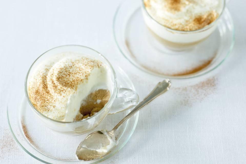 Pudding- Cappuccino Rezept