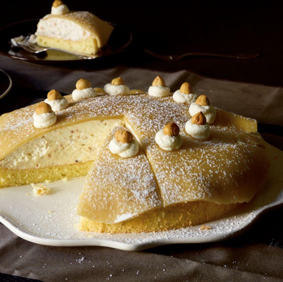 Marzipan-Nuss-Torte