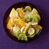 Winterlicher Fruchtsalat