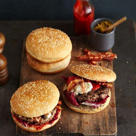 Rezepte: Burger mit Hackfleisch