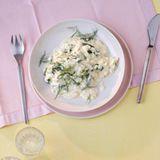 Limetten-Risotto mit Spinat und Mascarpone