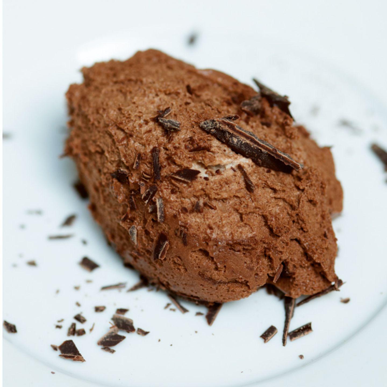 Desserts mit Schokolade