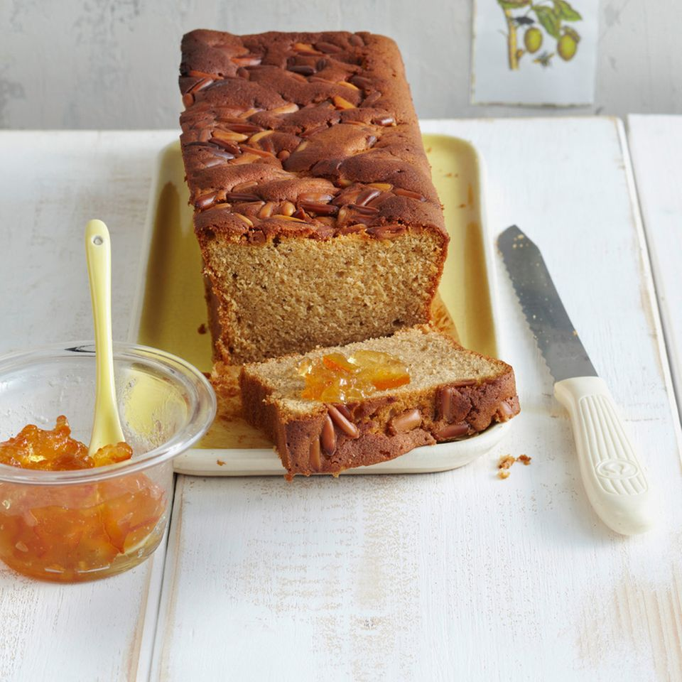 Honig-Olivenöl-Brot