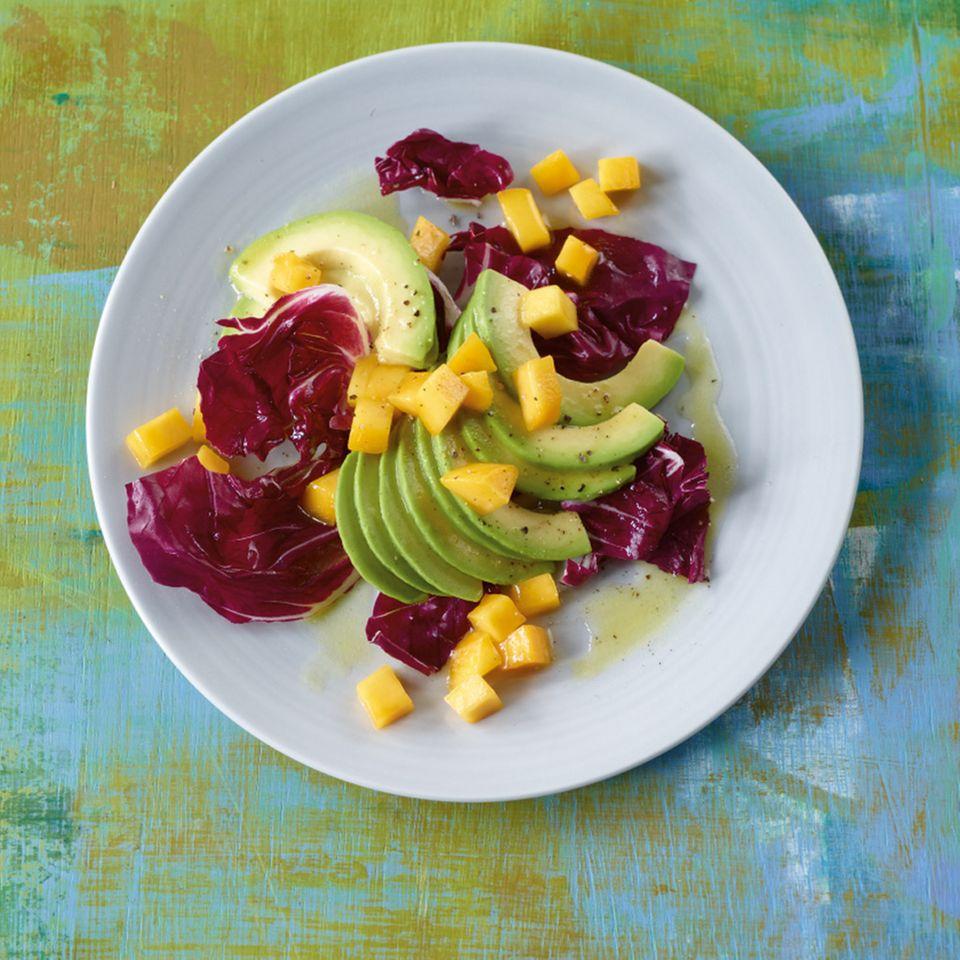 Fruchtiger Avocadosalat