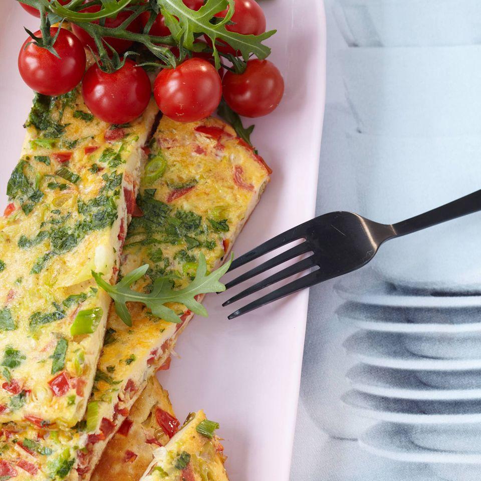 Tomaten-Omelette