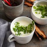 Buttermilchsuppe mit Kerbel