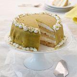 Pistazien-Marzipan-Torte