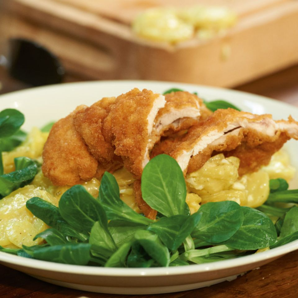 Kartoffel-Feldsalat-Salat